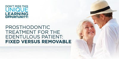 Treatment for the Edentulous Patient: Fixed versus Removable, Tulsa, OK
