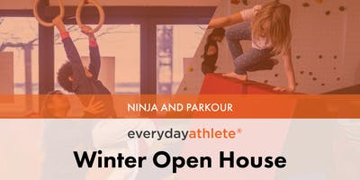 Everyday Athlete January OPEN HOUSE for Ages 3-4, 4-5, 6-7, -TIME: 1PM