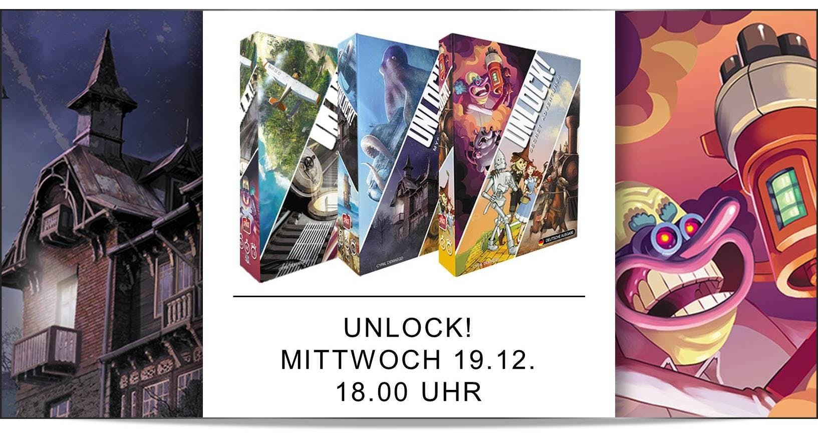 WiRTH Spieleclub: Unlock!