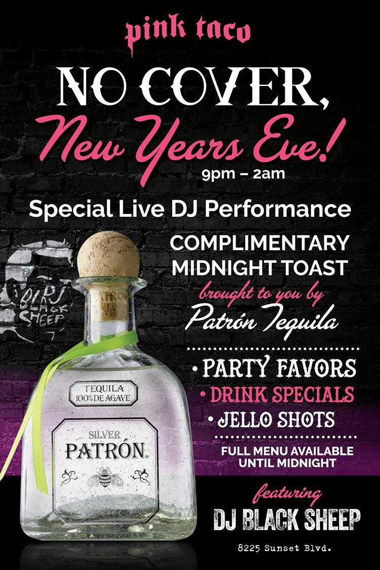 Pink Taco No Cover New Years Eve