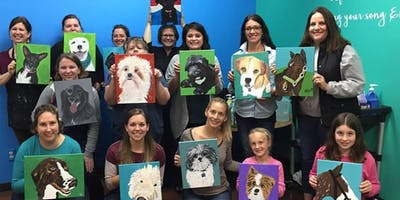 Paint your Pet FUNdraiser for the Southside SPCA