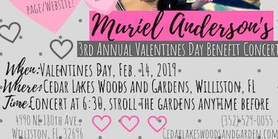 Muriel Anderson Valentine's Day Benefit Concert