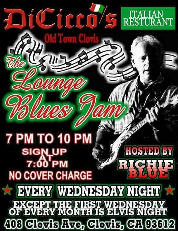 Blues Jam Hosted By Richie Blue With Special