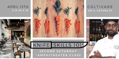 Amphitheater Cooking Class: Knife Skills 101