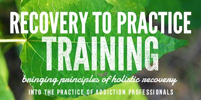 Continuing Education: Recovery To Practice Training