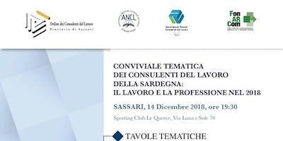 Conviviale Tematica dei Cdl della Sardegna