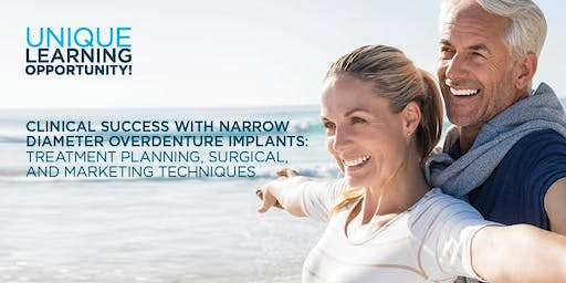Clinical Success with Narrow Diameter Overdenture Implants - Aug. 23, 2019