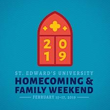 Homecoming & Family Weekend | St. Edward's University  logo