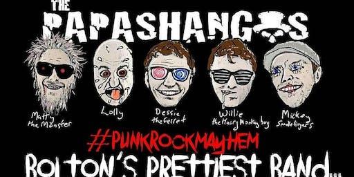 Punk n Poetry with: PAPASHANGOS, Rotting Monarchs plus three local poets