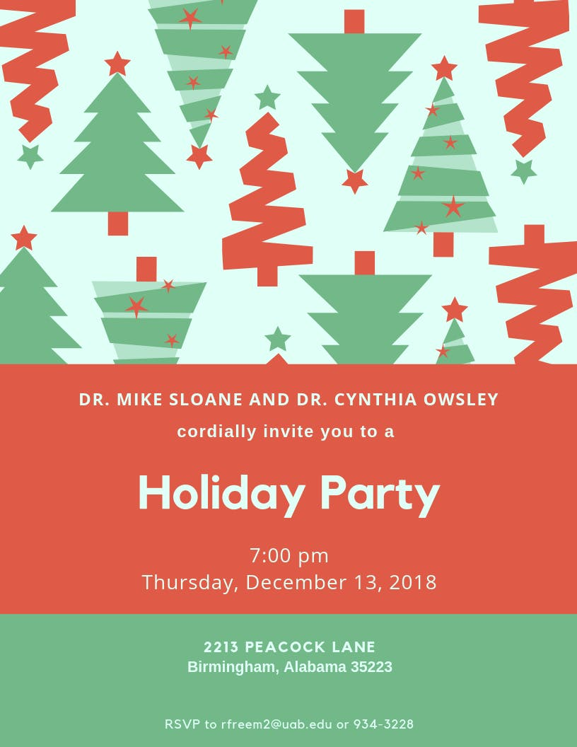Mike's Holiday Party