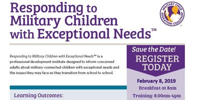 Responding to Military Children with Exceptional Needs