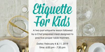 Etiquette For Kids