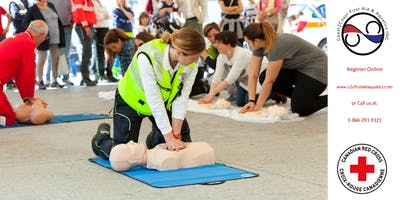 Red Cross First Aid & CPR/AED Coupon - Hamilton, ON