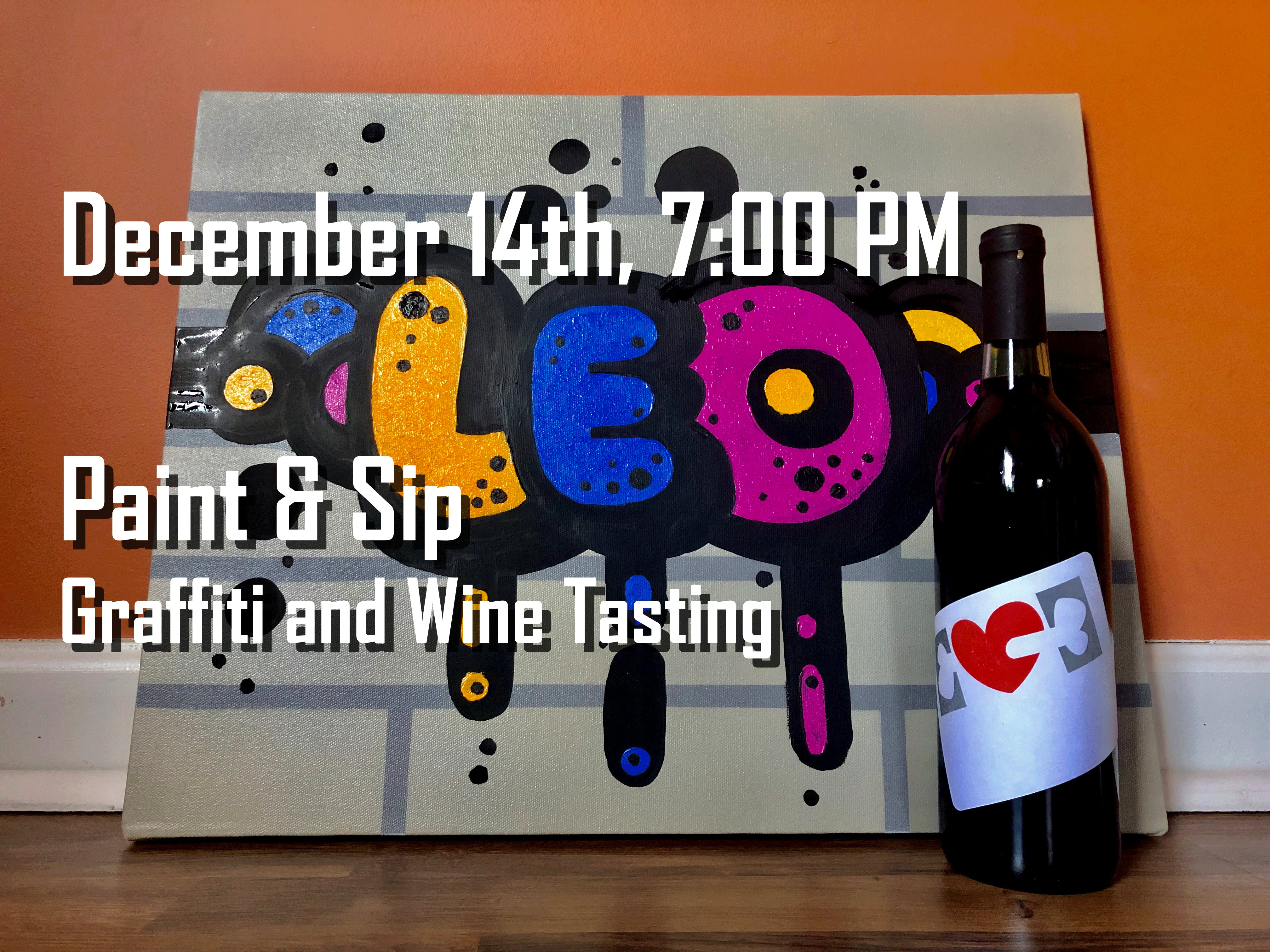 Paint & Sip at the Winery!