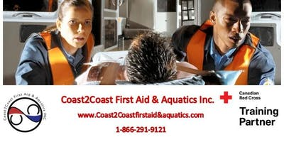 Red Cross First Aid & CPR/AED Course In Ottawa, ON