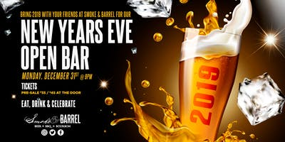 New Years 2019 Party at Smoke & Barrel
