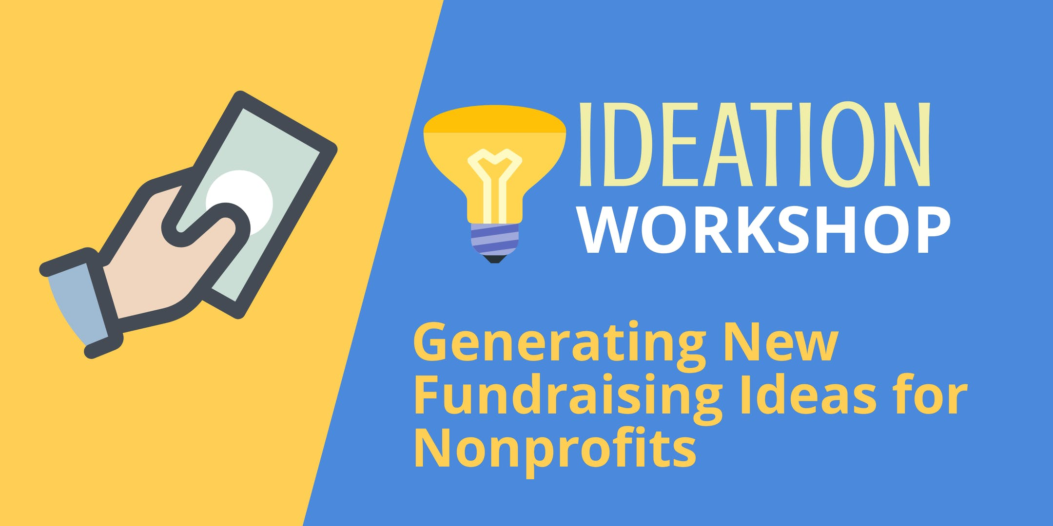 ideation workshop: new fundraising ideas for nonprofits