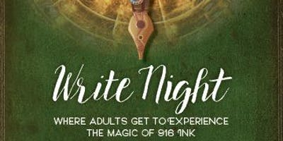 Write Night with 916 Ink
