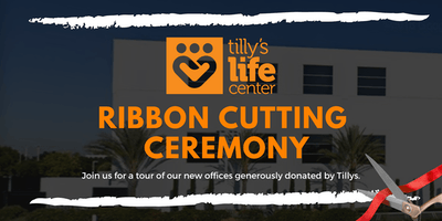 Tilly's Life Center Ribbon Cutting
