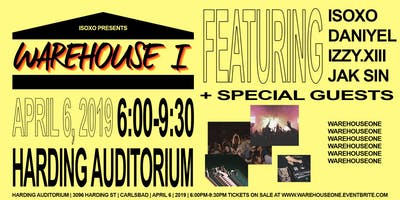 ISOxo Presents WAREHOUSE I
