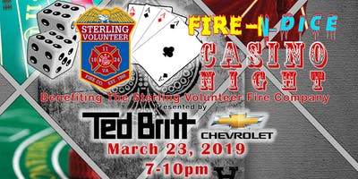 Fire-N-Dice Casino Night 2019 - Presented by Ted Britt Chevrolet