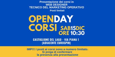 Open Day Corsi di Formazione Web Marketing