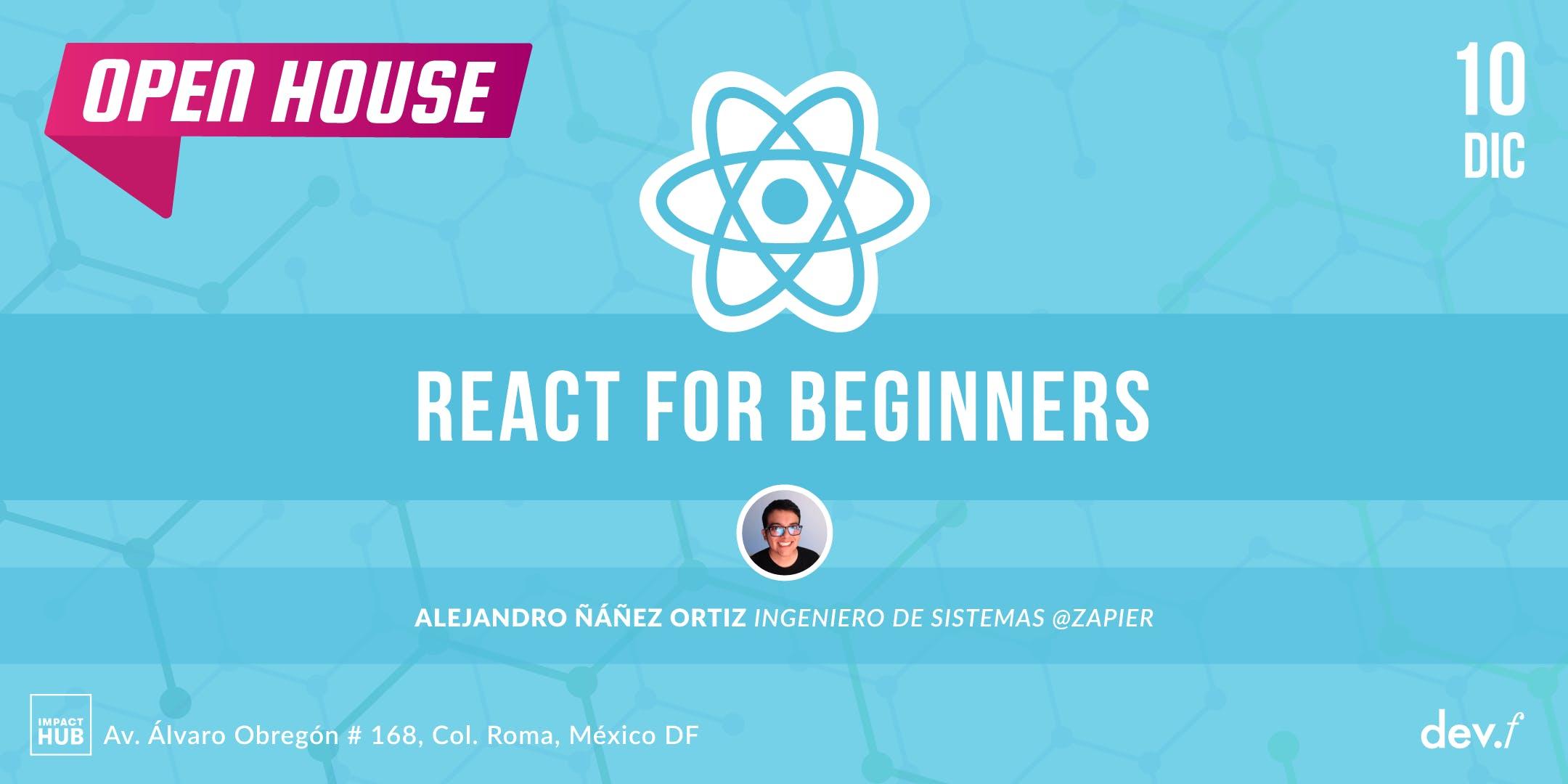 Workshop: React for beginners