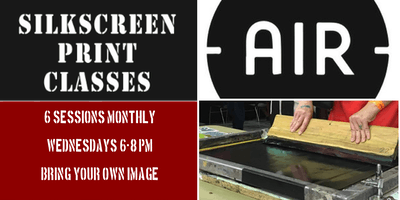 Intro to Photographic Screenprint: AUGUST