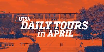UTSA Daily Tours - April 2019