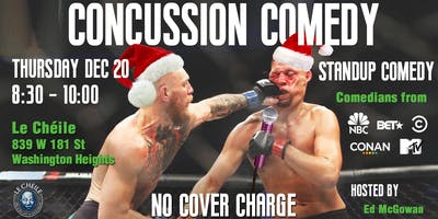 Concussion Comedy | Stand-Up Comedy in Washington Heights