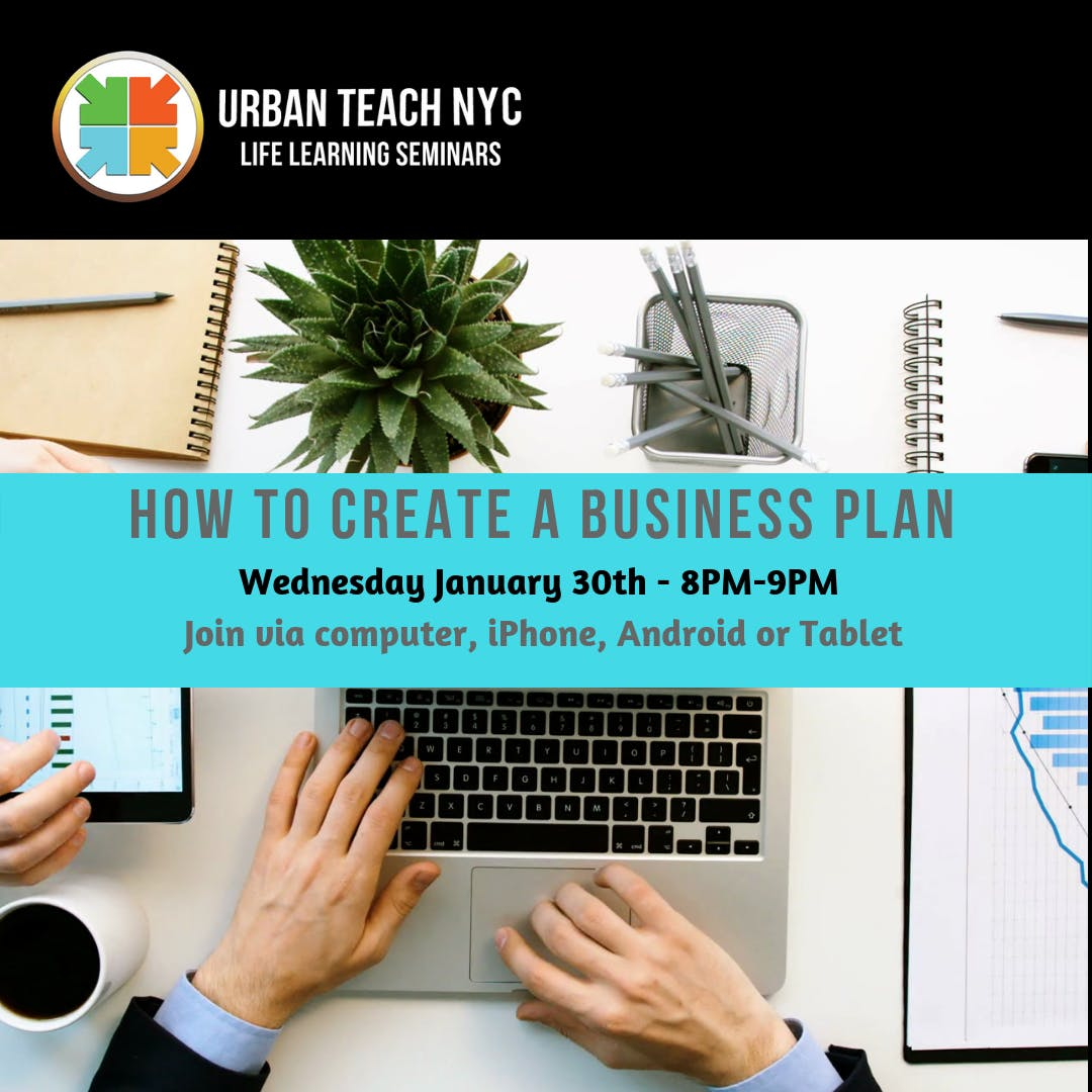 free online class how to create a business plan 30 jan 2019