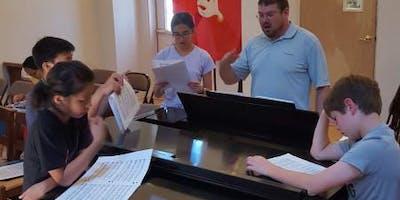 Free Music Day Camp with North Carolina Boys Choir and Girls Choir