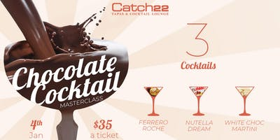 CHOCOLATE COCKTAIL MASTERCLASS
