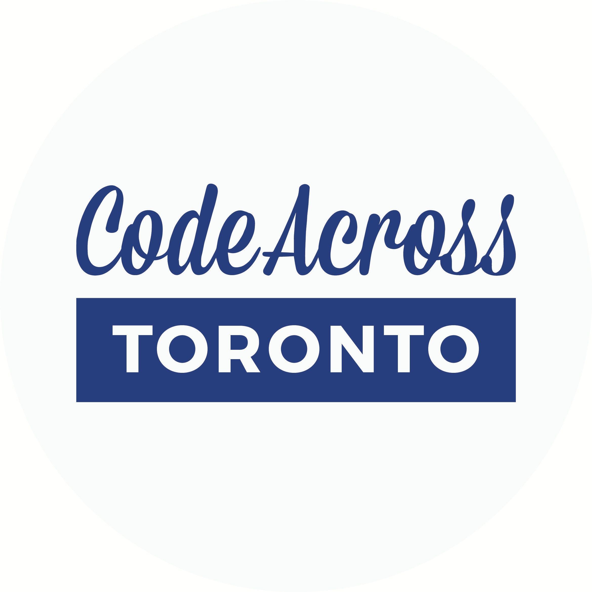 CodeAcrossTO 2019
