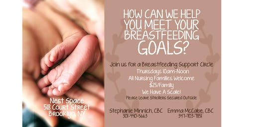 Nest Space Breastfeeding Support Group