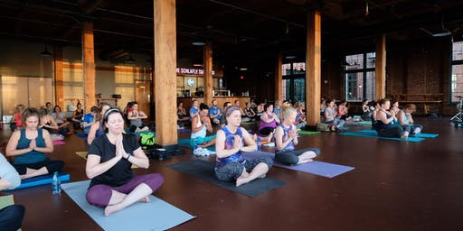 Yoga + Beer at Schlafly Tap Room
