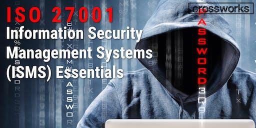 ISO 27001 ISMS Essentials (Batch 194)