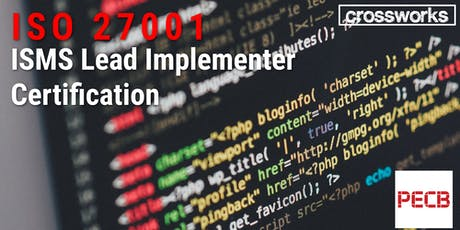 ISO 27001 ISMS Lead Implementor Certification (Batch 192) tickets