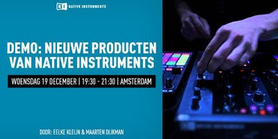 Demo Native Instruments New Products