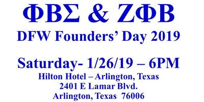 DFW Blue and White Founders' Day Celebration 2019