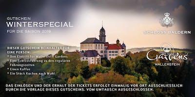 Winterspecial - Gutschein für einen Erlebnistag auf Schloss Baldern und in Wallerstein Gardens