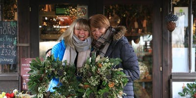 Holly Wreath Workshop With Jacky & Peter | 1st Workshop