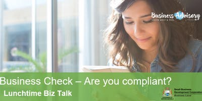 Q&A Biz Talk Check your Business - Are you Compliant? | Mandurah