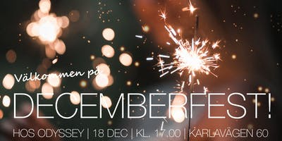 Fira med oss! Decemberfest hos Odyssey