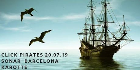 Click Pirates with Karotte Sonar tickets
