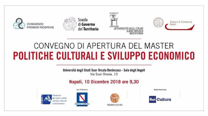 """Convegno """"Politiche Culturali e Sviluppo Econ"""
