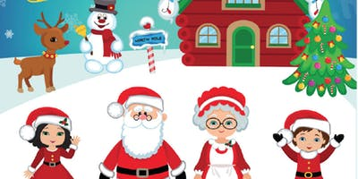 Childrens Christmas Party Hosted by Santa Claus &