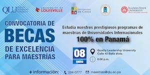 Convocatoria de Becas para Maestrías - 100% en Panamá