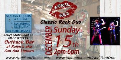 April Red rockin' The Outback Bar at Ralph's aka San Ann Liquor!