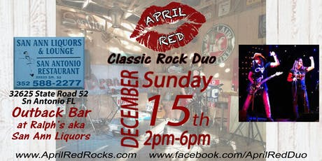April Red rockin' The Outback Bar at Ralph's aka San Ann Liquor! tickets